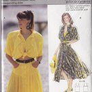 Dirndl Skirt Tied Crop Top Size 8-18 Uncut Burda 5726 Retro Chic 80s Batwing Blouse Full Yoke Skirt