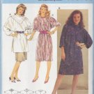80s Boho Prairie Dress and Tunic Size 8-18 Uncut Burda 7230 Retro Peasant Yoke Batwing Painter Smock