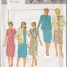 Retro 80s Ladylike Dress Suit Size 20 Uncut Style 4064 Classic Feminine Elegant Business Office Wear