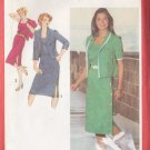 Retro Ladylike Office Dress Suit Size 18-20 Uncut Simplicity 9366 Elegant Secretary Schoolteacher
