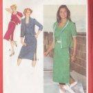 Retro Ladylike Office Dress Suit Size 18-20 Uncut Simplicity 9366 Elegant Secretary Schoolteacher