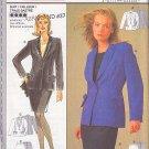 Classic Tailored Skirt Blazer Suit Size 8-18 Uncut Burda 3333 Elegant Business Jacket Office Wear