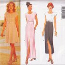 Sweet Empire Waist Fancy Dress Size 12-16 Uncut Butterick 4775 Classic Evening Short Flirty Dress
