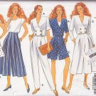 Casual Suit Gaucho Pants and Bolero Size 18-22 Uncut Butterick 6163 Cute Funky Cropped Jacket Skort