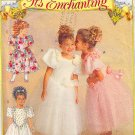 Girls' Cinderella Princess Dress Size 5-6x Butterick Sewing Pattern 6548 Flower Girl Wedding