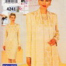 Long Sleeve Sheath Elegant Jacket Size 8-12 Uncut Butterick 4241 Easy Classic Chic Scarf Cardigan
