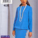 Sophisticated Blouson Top Straight Skirt Size 12-16 Uncut Butterick 4131 Classic Ladylike Elegance