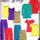 Trendy Fun Casual Knit Separates Size 8-18 Uncut New Look 6729 Weekend Chic Funky Basic Coordinates
