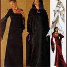 Women's Gothic Renaissance Gown and Cape Size 10-14 Uncut McCall's 2810 Elvira Vampire Dark Romantic