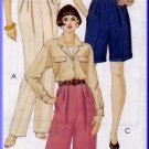 Timeless Trousers Pants Shorts Size 10 Uncut McCall's 6985 Classic Pleats Palmer Pletsch Perfect Fit