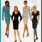 Feminine Afternoon Tea Skirt Suit Size 18-22 Uncut McCall's 8566 Stylish Classy Luncheon Ensemble