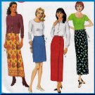 Elegant Chic Wrap Skirt Size 4-8 Uncut McCall's 8835 Basic Easy 2 Hour Skirt Dressy Weekend Casual