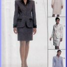 Chic Coatdress and Skirt Suit Size 14-18 Uncut McCall's 9647 Ladylike Glam Wing Collar Sophisticated