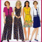 Sweet Jumpsuit and Bolero Jacket Size 18-22 Uncut Simplicity 7594 Easy Chic Casual Summer Vacation
