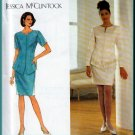 Refined Sophisticated Jacket Skirt Suit Size 18-22 Uncut Simplicity 7597 Elegant Jessica McClintock