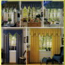 Home Dec Window Treatments Simplicity Sewing Pattern 7885 Gathers Pleats Drapery Valance Canopy