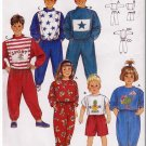 Children's Baggy Retro 90s Sweatsuit Sz 2-10 Burda Sewing Pattern 5411 Knit Outfit Tops Bottoms