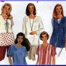 Easy Simple Pullover Women's Top Vest Sz L-XL Uncut Simplicity 7209 Casual Basic Shirts Crepe Rayon