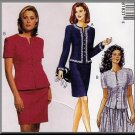 Ladylike Sophisticated Skirt and Jacket Ensemble Sz 8-12 Uncut McCall's 8183 Elegant Feminine Office