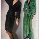 Parisian Chic YSL Wrap Dress Sz 10 Uncut Vogue 1651 Classic 80s Glamor Beautiful Yves Saint Laurent