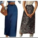 Classic Slim 1950s Skirt Waist Sz 24 McCall's Sewing Pattern 3369 Timeless Vintage Easy Sew 3-Piece