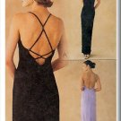 Sleek Crisscross Back Dress Sz 8-12 McCall's Sewing Pattern 2023 Fitted Elegant Chic Evening Gown