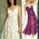 Flamenco Ruffles Frilly Dress Sz 12-18 McCall's Sewing Pattern 5099 Short Cocktail Empire Bodice