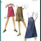 Basic Flared Skirts 3 Lengths Sz 12 Style Sewing Pattern 2969 Mini Darted Ladylike Retro Chic