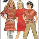 Girls' Casual Knit Sport Separates Sz 7-10 Butterick Sewing Pattern 6039 New Wave Sweatshirt Dress