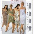 Burda Sewing Pattern 8348 Sz 8-20 Empire Bodice Dresses in 4 Styles Peasant Sheath Cute Summer Dress