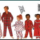 Butterick Sewing Pattern 4222 Sz 7-10 Children's Sleepwear Ruffled Nightgown Pajama Top and Pants