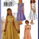 Butterick Sewing Pattern 3714 Sz 12-16 Girls' Fancy Dress Junior Bridesmaid Flower Girl Cowl Neck