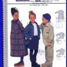 Burda Sewing Pattern 2907 Sz 6-11 Girls' Boys' Baggy Button Front Shirt Loose Fit Dress Collar Cuffs