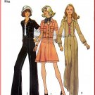 Vintage Simplicity Sewing Pattern 6812 Sz 12 Misses' Jacket Pants Skirt Notch Collar Patch Pockets
