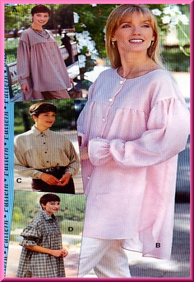 Sewing Step-By-Step Pattern 012-052-085 Romeo Blouse Sz 4-22 Misses' Chic Ruffle Gathered Shirt Yoke