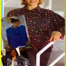Sewing Step-By-Step Pattern 012-052-125 Raglan Sleeve Garments Sz 4-22 Misses' Tops Cardigan Jacket