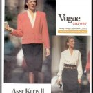 Vogue Sewing Pattern 2433 Size 18-22 Misses' Anne Klein II Career Wardrobe Skirt Suit Blouse Jacket