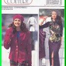 Burda Sewing Pattern 4143 Size 10-20 Misses' Classic Coordinates Jacket Skirt Shorts Vest Waistcoat