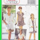 Burda Sewing Pattern 4499 Size 10-20 Misses' Chic Elegant Coordinates Jacket Top Pantskirt Skort