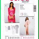Burda 7537 Sewing Pattern Sz 10-22 Misses' Dress Strapless Princess Seams Empire Bodice Bell Sleeves