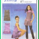 Burda 8123 Sewing Pattern Sz 6-18 Misses' Tunic Dress Mod 60s GoGo Scooter Dress Jumper Pleats Retro