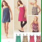 Simplicity 3882 Sewing Pattern Size 14-22 Misses' Knit Dress Top Bubble Dress Gathers Empire Bodice