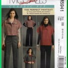 McCall's 5941 Sewing Pattern Sz 8-14 Misses' Outfit Jacket Pants Suit  Easy Kimono Jacket Trousers