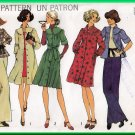 Simplicity 7050 Vintage Sewing Pattern Sz 8-10 Misses Dress Top Gathers Yoke Puff Shoulders 70s Chic