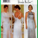 Butterick 5305 CUT Sewing Pattern Sz 6-10 Misses' Fitted A-Line Evening Gown Bolero Jacket Bridal