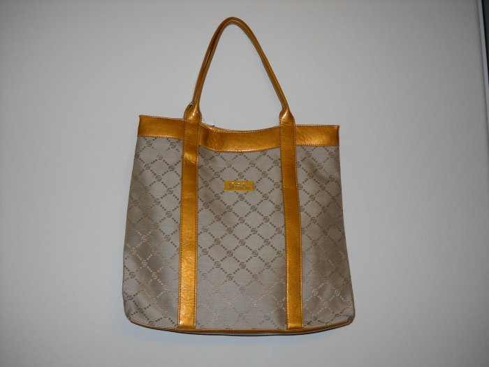 FUBU Light Brown Tote Bag (Large Size)
