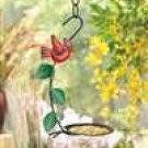 Country Cardinal Birdfeeder