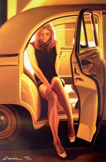 CARRIE GRABER GLAMOUR  Rolls Royce HS# CANVAS