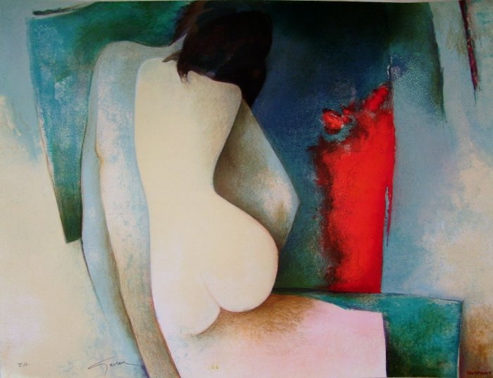 Claude GAVEAU~NU #1~Mouly nude French HS&# ART PROOF!