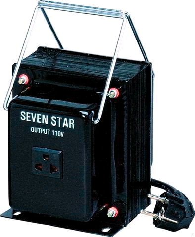 100 Watts Step Down Voltage Converter with European Style Power Cord